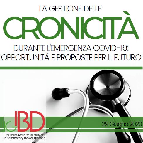 La gestione delle cronicità durante l'emergenza COVID-19: opportunità e proposte per il futuro
