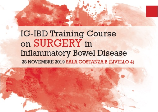 TRAINING COURSE ON SURGERY IN IBD