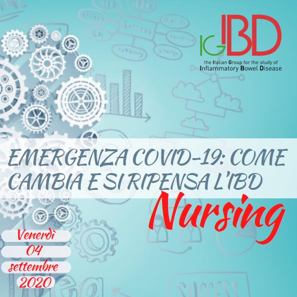 Emergenza COVID-19: come cambia e si ripensa l'IBD Nursing